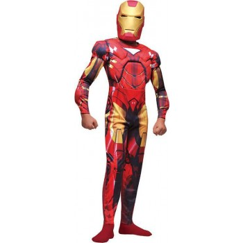 Iron Man Muscle . 5 - 7Yrs (Fancy Dress Costume)