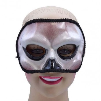 One Size Skull Style Eye Mask Fancy Dress Accessory