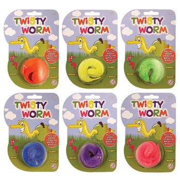 Twisty Worms (Assorted Colours) Accessories