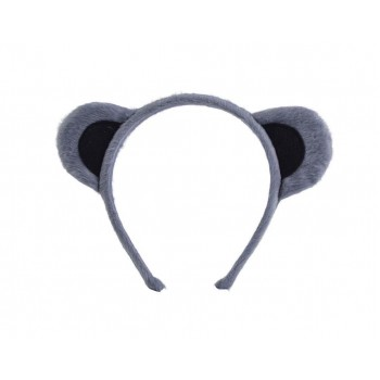 Animal Ears. Grey Accessories