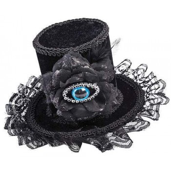 Adults Evil Eye Halloween/Steampunk Top Hat
