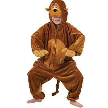 Kids Monkey Fancy Dress Costume
