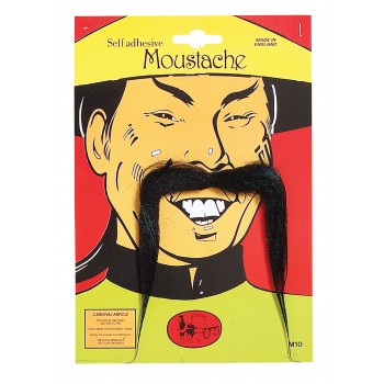 Chinese Man Moustache
