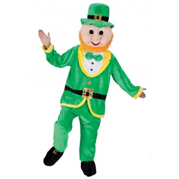 Adult Unisex Mascot - Leprechaun Animal Outfit - One Size (Green)