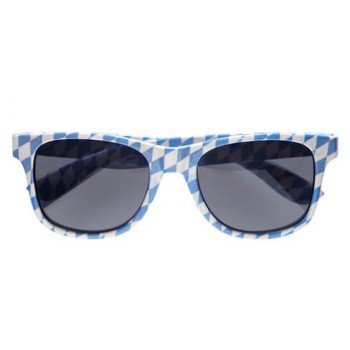 Adults Oktoberfest/Bavarian Wayfarer Glasses Fancy Dress Accessory