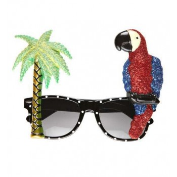 Adults Parrot Tropical Glasses Fancy Dress Accessory