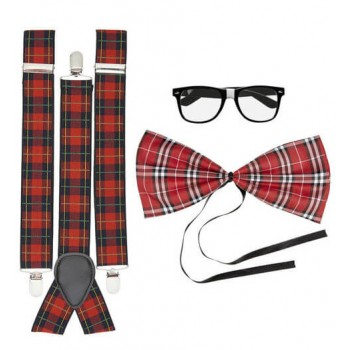 Adults School/Class Nerd Set Fancy Dress Accessory