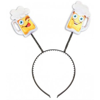 Beer Mug Head Boppers Fancy Dress Accessory