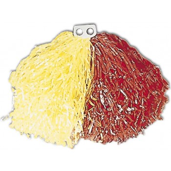 Bicolour Pom Pom - Yellow/Red Fancy Dress