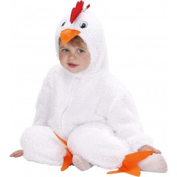Toddler Fuzzy Chick Baby - 2 Styles Ass Animal - (White, Yellow)