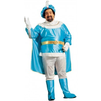 Blue Prince Adult Fancy Dress Costume Mens (Royalty)