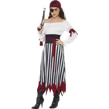 Ladies Pirate Lady Costume Pirates Outfit