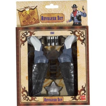 Wild West Gun Set - Fancy Dress (Cowboys/Indians)