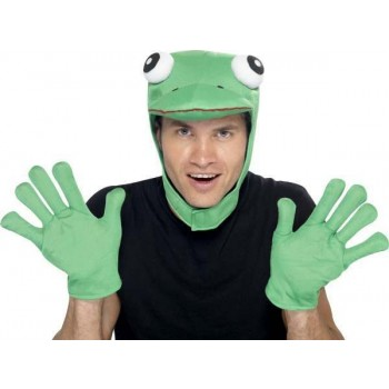 Mens Frog Kit Disguises - (Green)