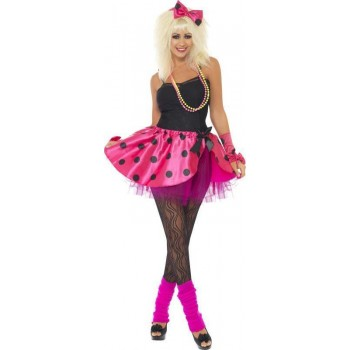 Ladies Pink Tutu Instant Kit Outfit (Pink)