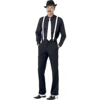 Mens Gangster Instant Kit Disguises
