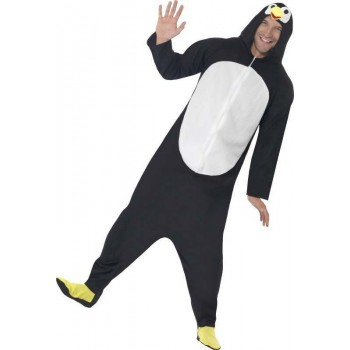 Mens Penguin Costume Animal Outfit