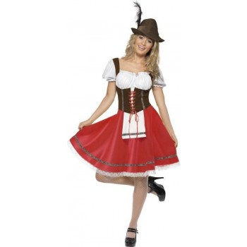 Ladies Bavarian Wench Costume Bavarian Outfit