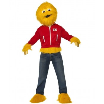Mens Honey Monster Costume Tv Outfit (Yellow)