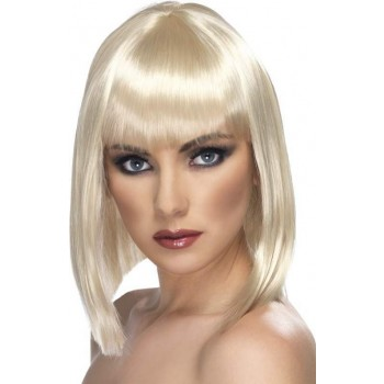 Glam Wig (Christmas Wigs) - Blond