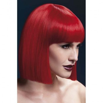 Fever Lola Wig, 12Inch/30Cm Wigs - (Red)