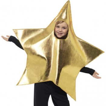 Childs Shining Star Nativity Fancy Dress Costume