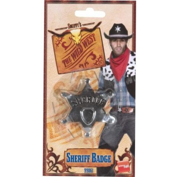 Sheriff Star Badge - Fancy Dress (Cowboys/Native Americans)