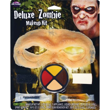Deluxe Zombie Makeup Halloween Kit