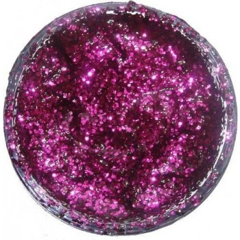 Glitter Gel - Fuchsia Pink 12Ml Fancy Dress - (Snazaroo)
