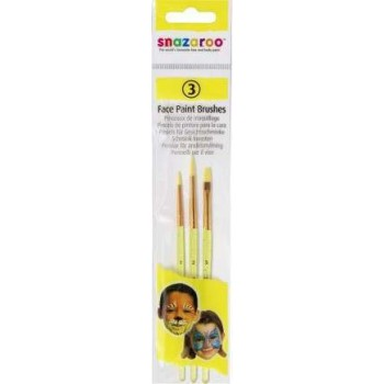 Fun Brush Set (3 Pack) (Snazaroo)