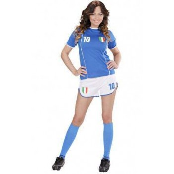 World Cup Soccer Girl Italy