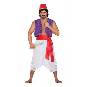 Desert Prince Red Sash Only Deluxe Fancy Dress