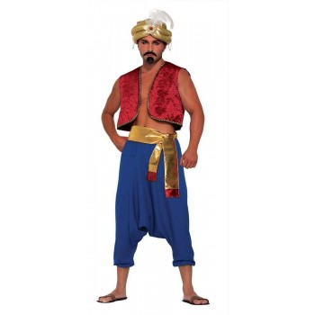 Desert Prince Gold Sash Fancy Dress