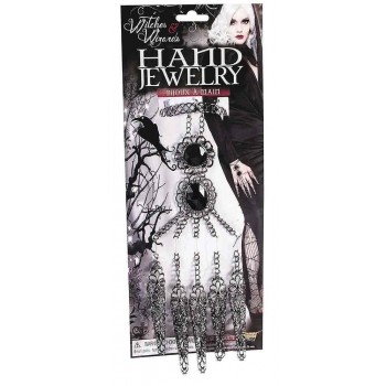 Witches Hand Jewellery Fancy Dress Halloween Accessory