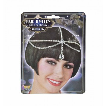 Roaring 20s Hair Jewellery Fancy Dress Accessory